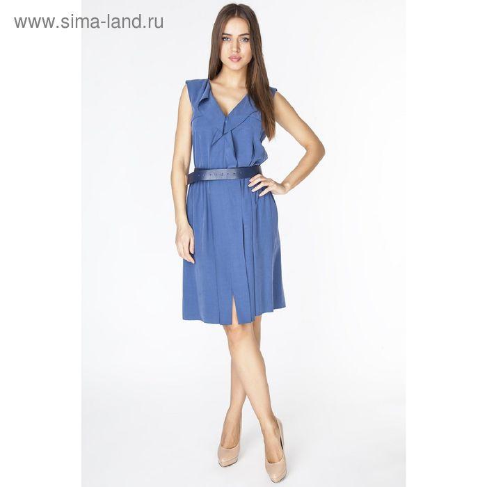 Платье женское D3133 цвет синий, размер  M(46)