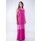 Сарафан женский D15-532 цвет розовый, размер  L(48)