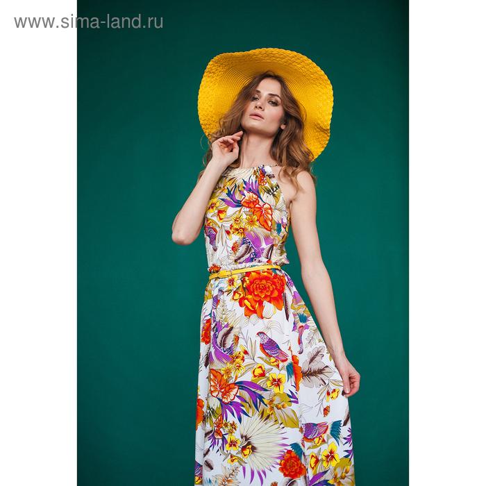 Платье женское D3217 цвет лиловый, размер  S(44)