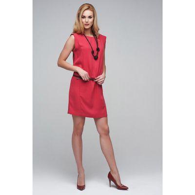 Платье женское D15-539 цвет малиновый, размер  L(48)