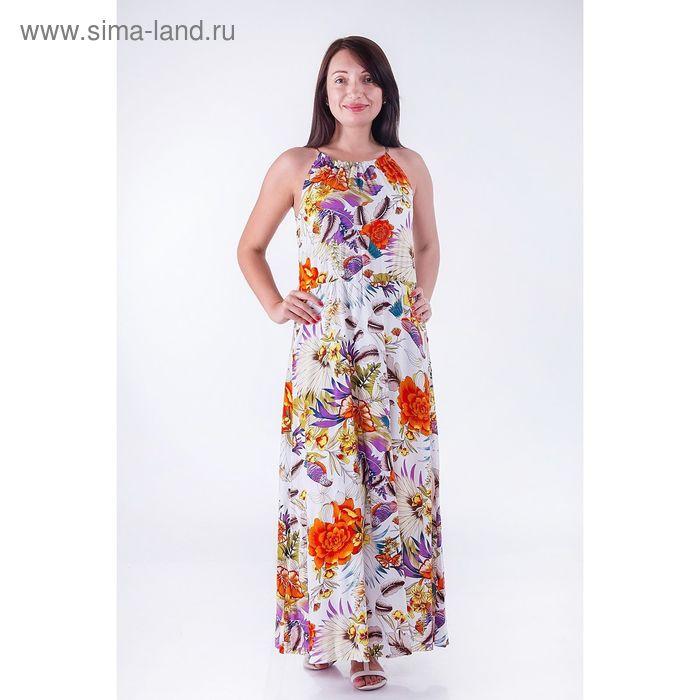 Платье женское, цвет лиловый, размер XXL (52) (арт. D3217 С+)