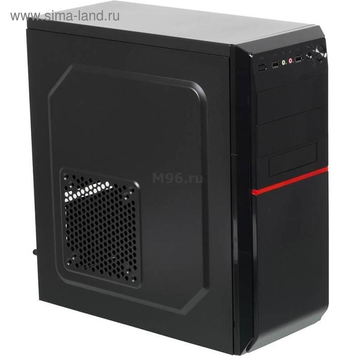 Корпус LinkWorld VC-08C02, черный, w/o PSU, ATX