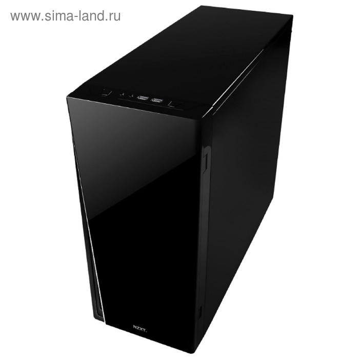 Корпус NZXT H230, черный, w/o PSU, ATX