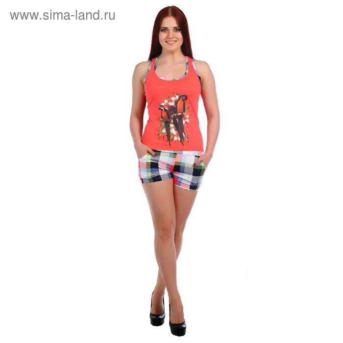 Комплект женский (майка, шорты), цвет МИКС, размер 50 (арт.ТК-127)