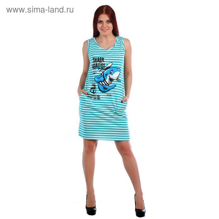Туника женская, цвет МИКС, размер 52 (арт.Т-139)