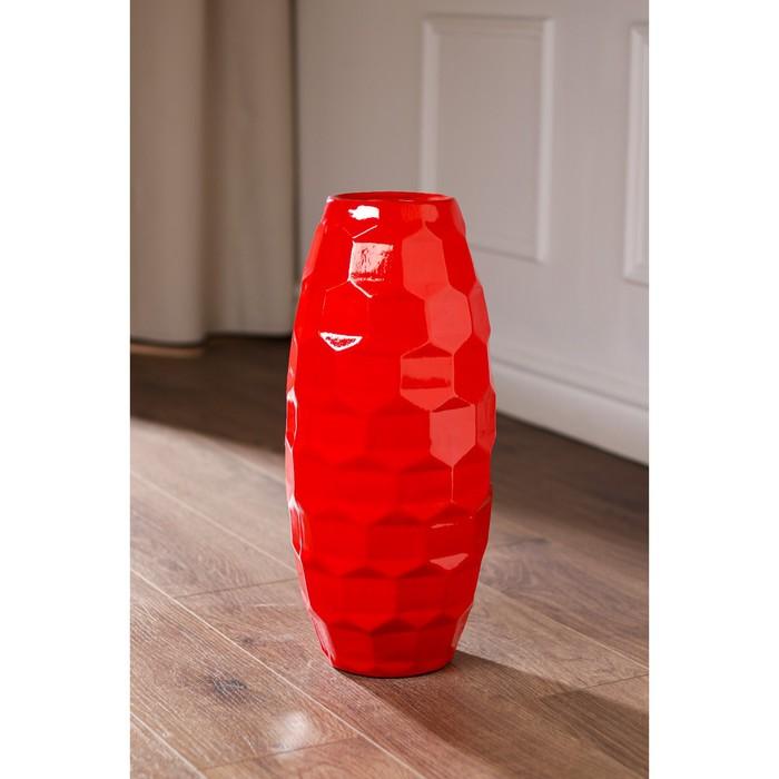 """Ваза напольная """"Сара"""", цвет красный, 43 см, керамика - фото 1649541"""