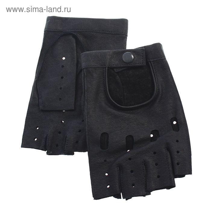 Перчатки мужские, модель №515у, материал - свинья, без подклада, р-р 20, чёрные