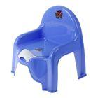 Горшок-стульчик с крышкой, цвет сиреневый