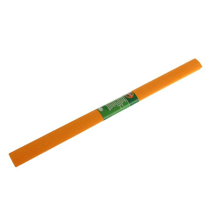 Бумага крепированная 50*200см оранжевая, в рулоне Koh-I-Noor