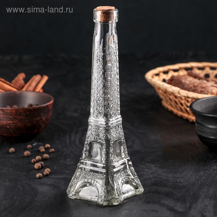 """Бутылка для масла 200 мл """"Париж"""", d=24 см"""