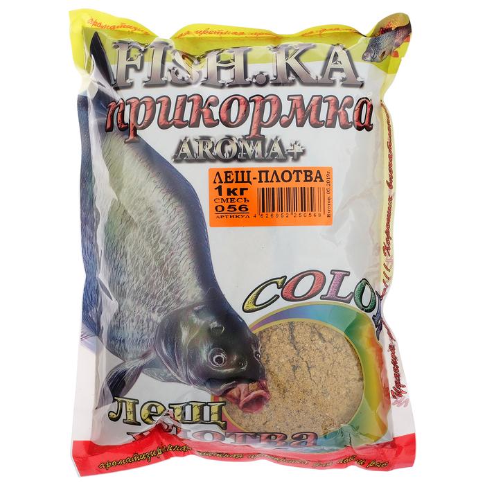 Прикормка Fish-ka Лещ-Плотва, вес 1 кг