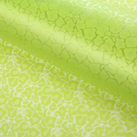 """Film for flower and gift """"Pattern"""", green, 60 x 60 cm"""