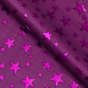 """Пленка голография """"Звёзды"""", фиолетовый, 70 х 100 см в Донецке"""