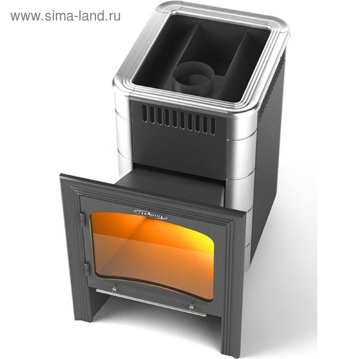 Печь банная Термофор Компакт 2013 Inox витра антрацит