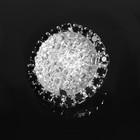 Декоративная пуговица круг черепаха, d=3см , цвет серебристый