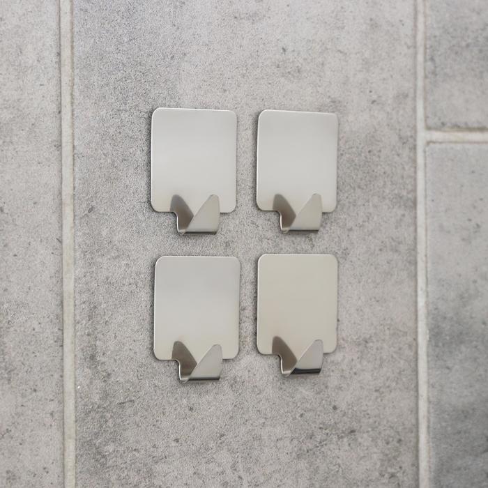 "A set of hooks metal Velcro ""Square"", 4-piece"