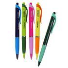 Ручка шариковая, автоматическая, 0.5 мм, Vinson «Экстра», с резиновым держателем, стержень масляный синий, МИКС