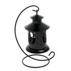 """Подсвечник """"Предложение"""" фонарь, 1 свеча, чёрный"""