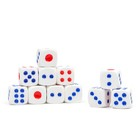 Dice 1.6x1.6 cm, packing 100 PCs