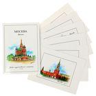 Набор художественных открыток из 6 штук «Москва»