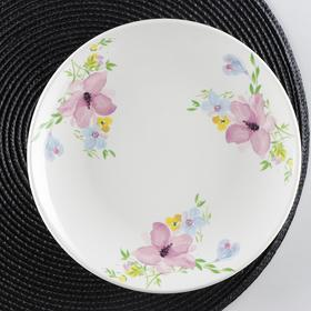 Тарелка мелкая «Фрезия», d=22 см
