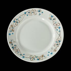 Тарелка мелкая 17,5 см 'Веточка' Ош