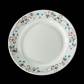 Тарелка мелкая 20 см 'Веточка' Ош