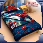 "Одеяло панно 1,5 сп ""Человек паук"" 140*205 см леб.пух, поплин, 200 г/м2"