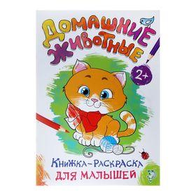 Раскраска для малышей «Домашние животные», формат А4, 16 стр.