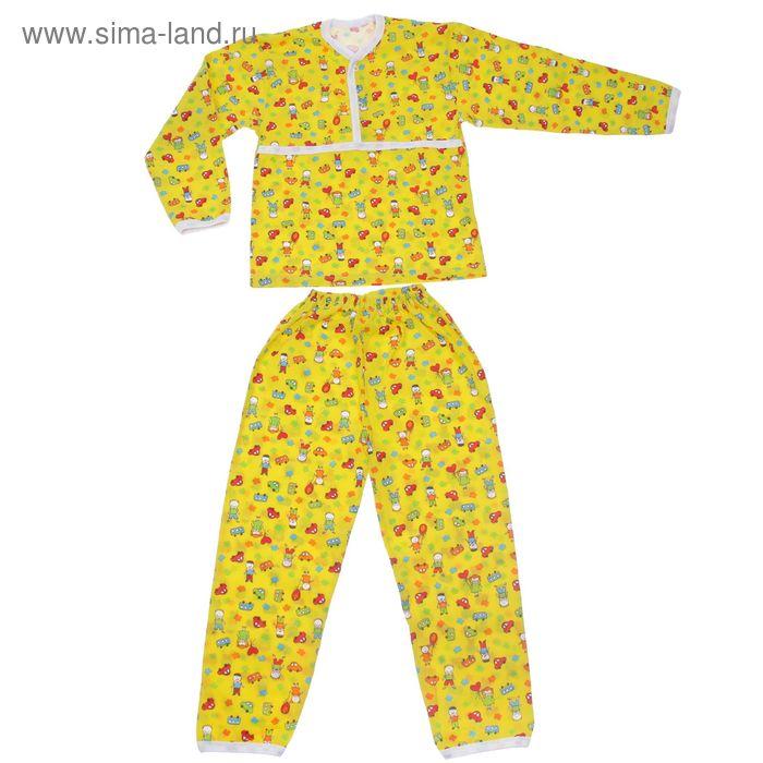 Пижама для мальчика, рост 116 см, цвет МИКС (арт. Пж-522-01_Д)