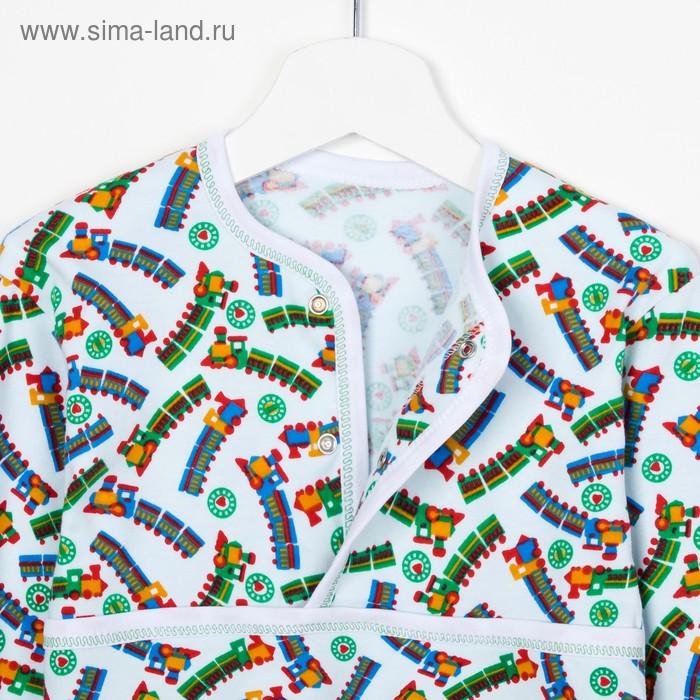 Пижама для мальчика, рост 116 см, цвет МИКС (арт. Пж-522-04_Д)