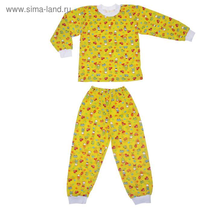 Пижама для девочки, рост 110 см, цвет МИКС (арт. Пж-524-01_Д)