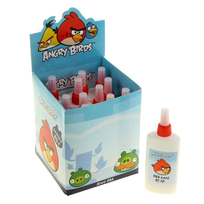 "Клей ПВА ""Angry Birds"" 85 гр."