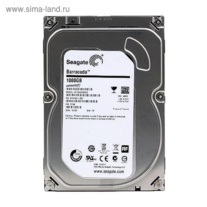 Жесткий диск Seagate Original SATA-III 1Tb ST1000DM003 Desktop