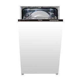 Посудомоечная машина Körting KDI 45130, класс А++, 10 комплектов, 6 программ, дисплей