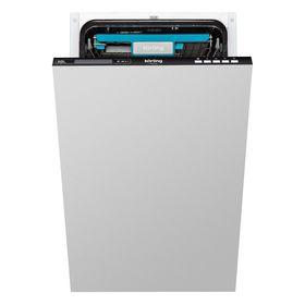 Посудомоечная машина Körting KDI 45165, класс А++, 10 комплектов, 8 программ, дисплей