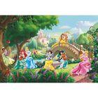 """Фотообои Komar 8-478 """"Принцессы на мосту Disney"""", 3,68х2,54 м"""