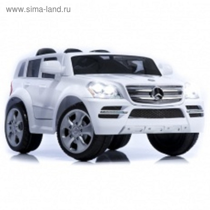 Электромобиль Mercedes-Benz GL500, цвет белый
