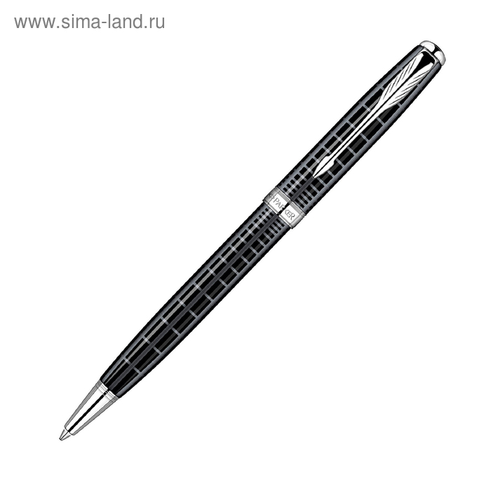 Ручка шариковая Parker Sonnet K531 (S0912420) Dark Grey CT (M) чернила: черный