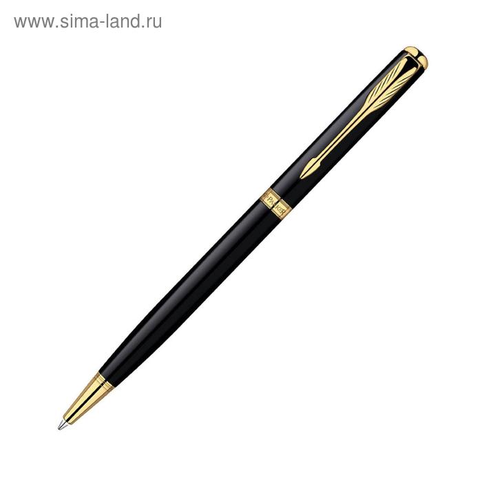 Ручка шариковая Parker Sonnet Slim K430 (S0808740) LaqBlack GT (M) чернила: черный