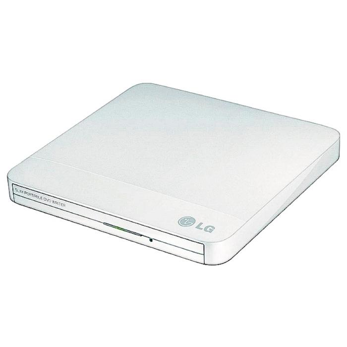 Привод DVD-RW LG GP50NW41 белый USB slim внешний RTL