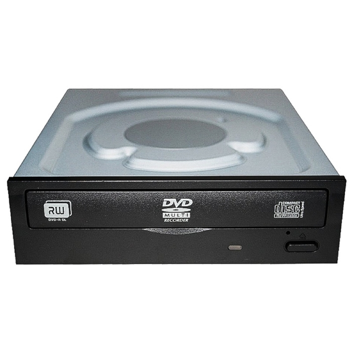 Привод DVD-RW Lite-On IHAS124-04/-14 черный SATA внутренний oem