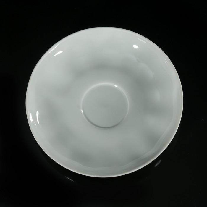 Блюдце «Тюльпан», d=15 см, цвет белый - фото 196964088
