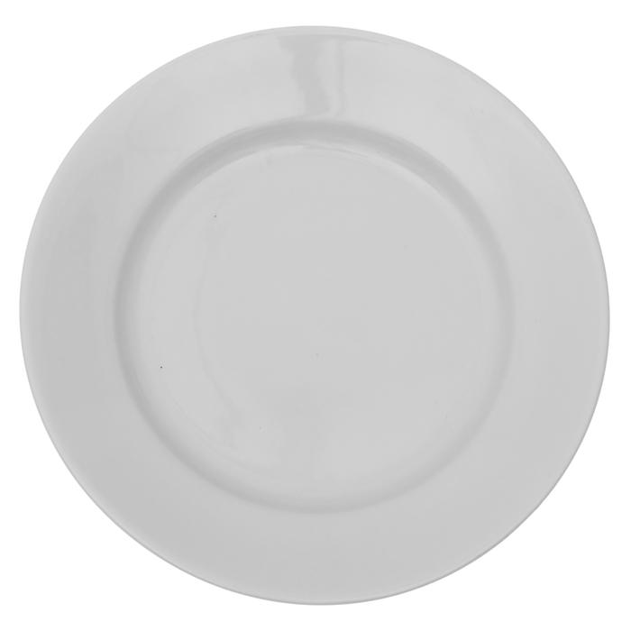 Тарелка мелкая 20 см, цвет белый