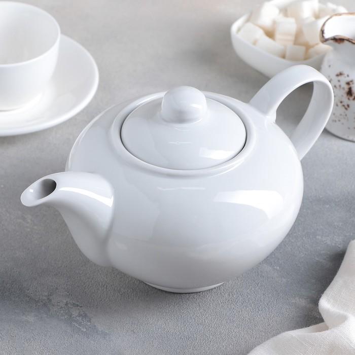 "Чайник 1,1 л ""Удачный"", цвет белый"