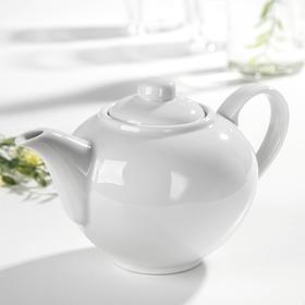 """Чайник 550 мл """"Удачный"""", цвет белый"""