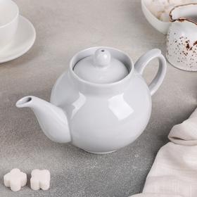 """Чайник 700 мл """"Рубин"""", цвет белый"""