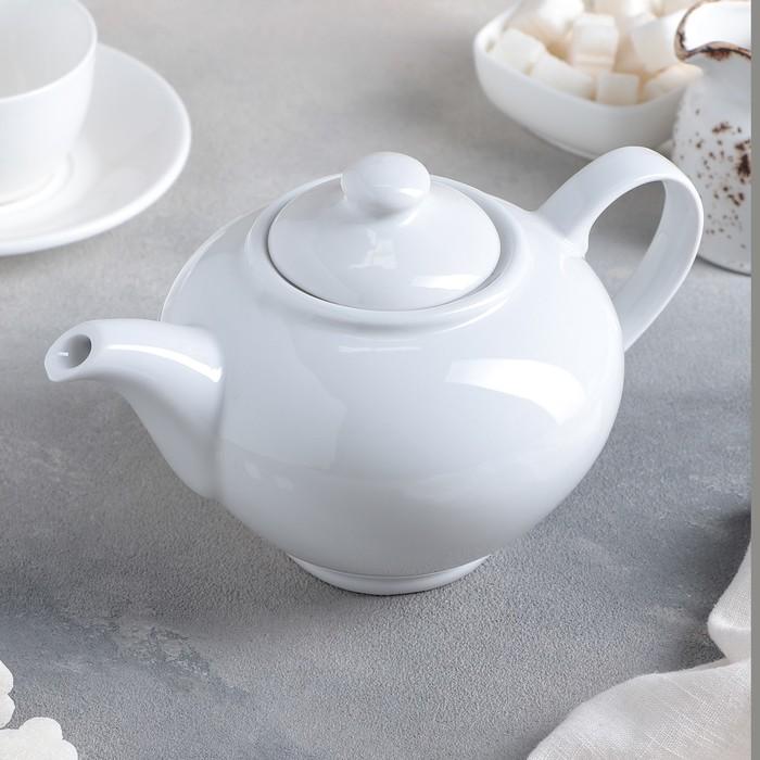 """Чайник 800 мл """"Удачный"""", цвет белый"""
