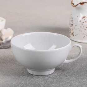 Чашка чайная 220 мл 'Рубин', цвет белый Ош