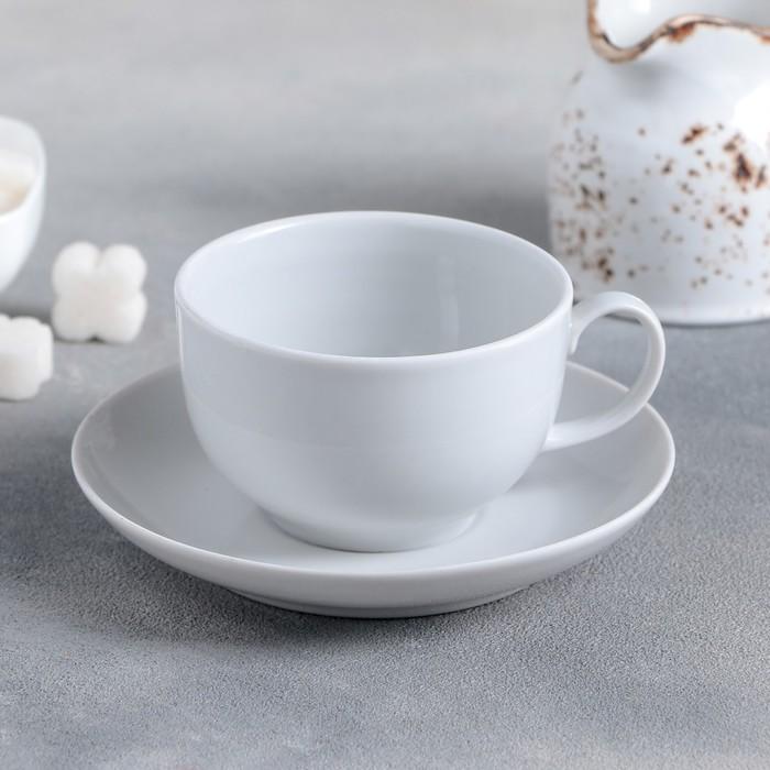 """Чайная пара 210 мл """"Бельё"""""""